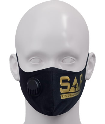 1 MASKER SAP GOLD (3PLY COTTON COMBAT)